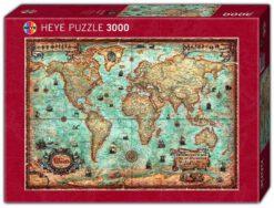 แผนที่โลกวินเทจ