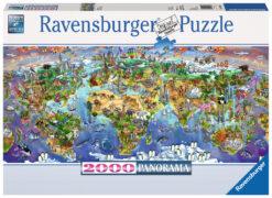 จิ๊กซอว์ 2000 ชิ้น World Wonders Panorama rave 4