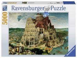 จิ๊กซอว์ 5000 ชิ้น The Tower of Babel rave 8