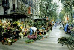ตลาดดอกไม้บาร์เซโลน่า