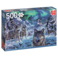 จิ๊กซอว์ 500 ชิ้น Winter Wolves