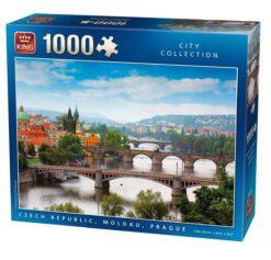 จิ๊กซอว์ 1000 ชิ้น Czech Republic