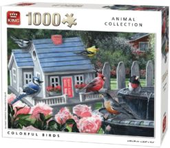 จิ๊กซอว์ 1000 ชิ้น Colourful Bird