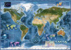 จิ๊กซอว์ 2000 ชิ้น Satellite Map