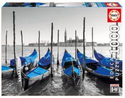 จิ๊กซอว์ 1000 ชิ้น Gondolas in Venice
