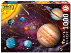 จิ๊กซอว์ 1000 ชิ้น Neon Solar System