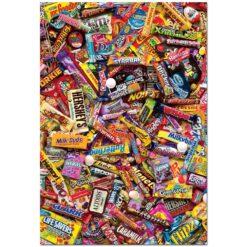จิ๊กซอว์ 500 ชิ้น Chocolate Candy Bars
