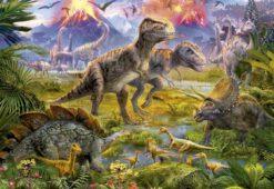 จิ๊กซอว์ 500 ชิ้น Dinosaur